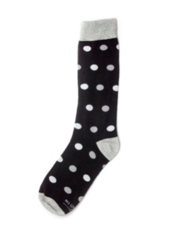 Black with white polka dot.png