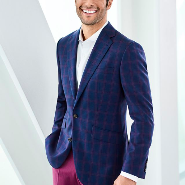 Surmesur blue plaid sport coat.png