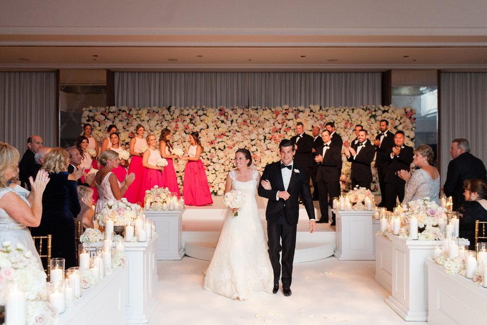 Glamorous Wedding Ceremony Chicago Wedding Emilia Jane Photography
