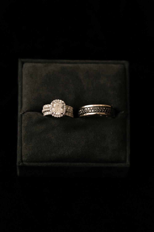 Cushion Cut Engagement Ring Chicago Wedding Emilia Jane Photography