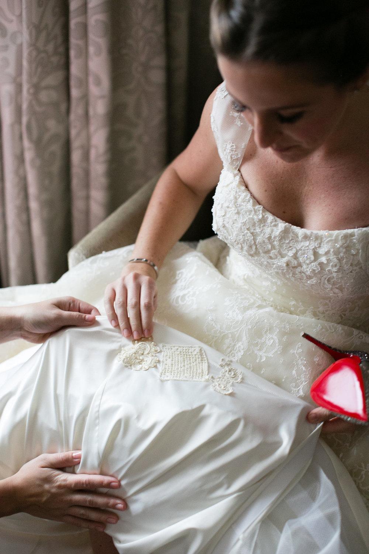 Lace Wedding Dress Chicago Wedding Emilia Jane Photography