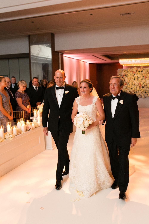 Bridal Entrance Chicago Wedding Ceremony Emilia Jane Photography
