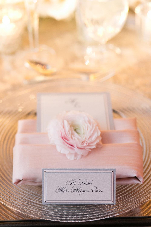 Pink Table Settings Chicago Wedding Emilia Jane Photography