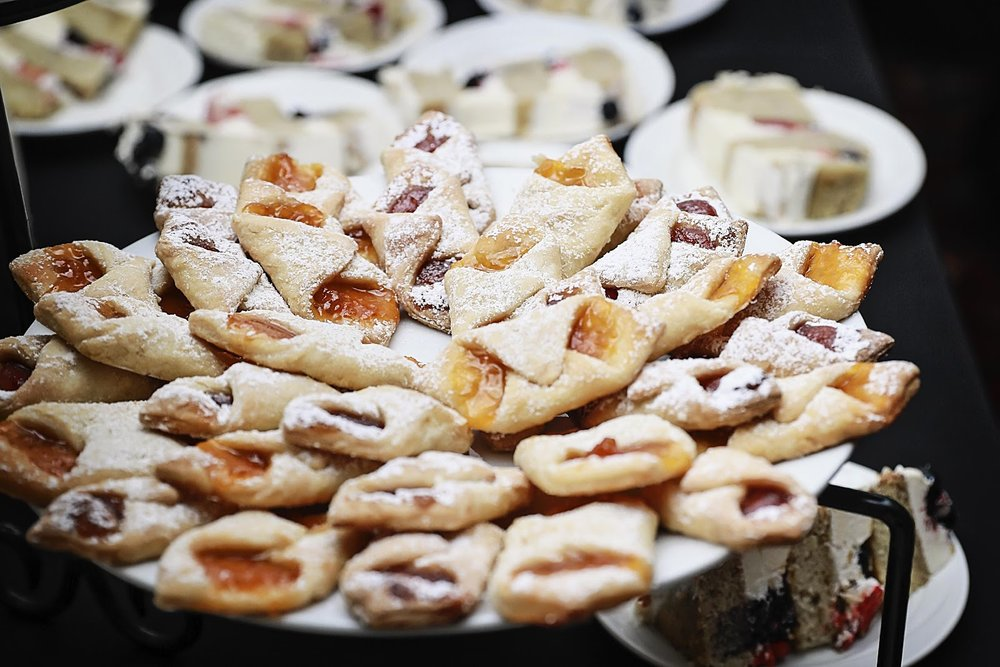 Raspberry, prune, and apricot filled Kolacky Photo by: Alicia's Photography