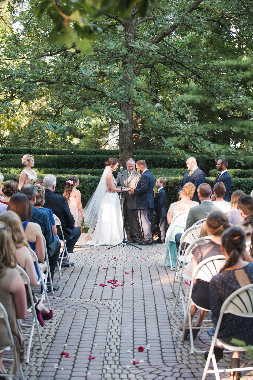 Chicago Wedding Ceremony Homestead 1854 Elite Photography