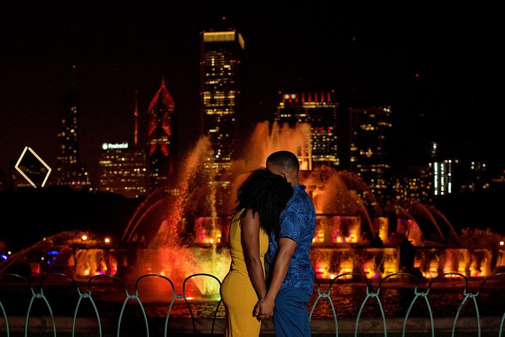 Chicago Engagement Photo Shoot Emily-Melissa Photography