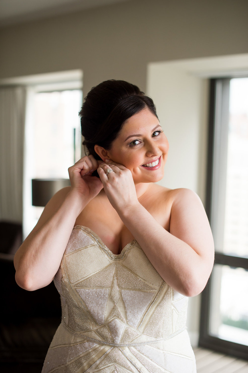 Bride Getting Ready Photo Chicago Wedding Julia Franzosa Photography