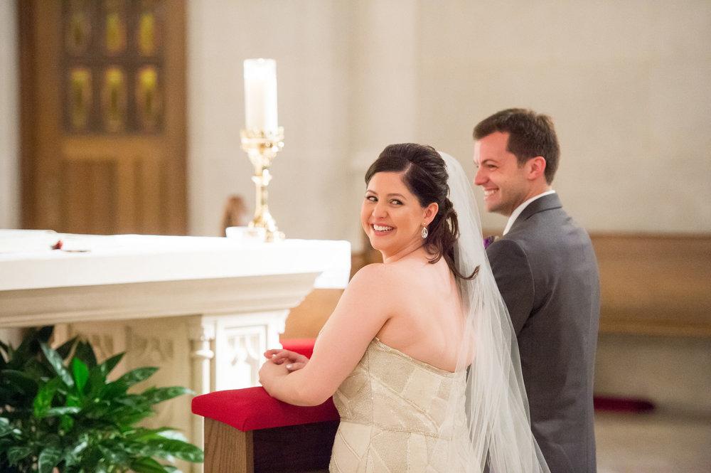 Chicago Wedding Ceremony St. James Chapel Chicago Wedding Julia Franzosa Photography