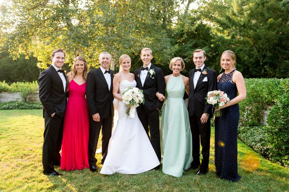 Elegant Bridal Party Chicago Wedding Julia Franzosa Photography