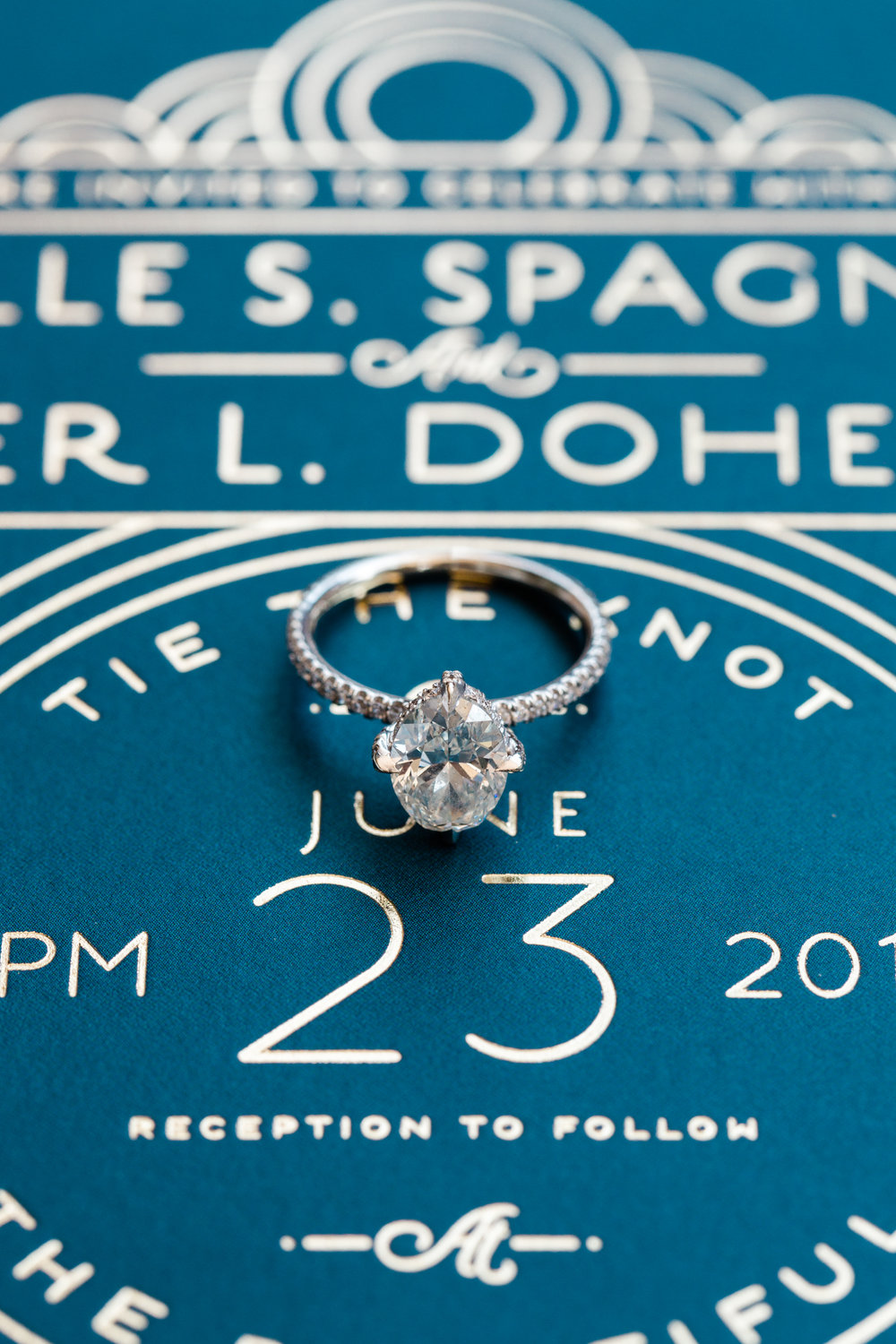 Oval Engagement Ring Chicago Wedding Lindsey Taylor Photography