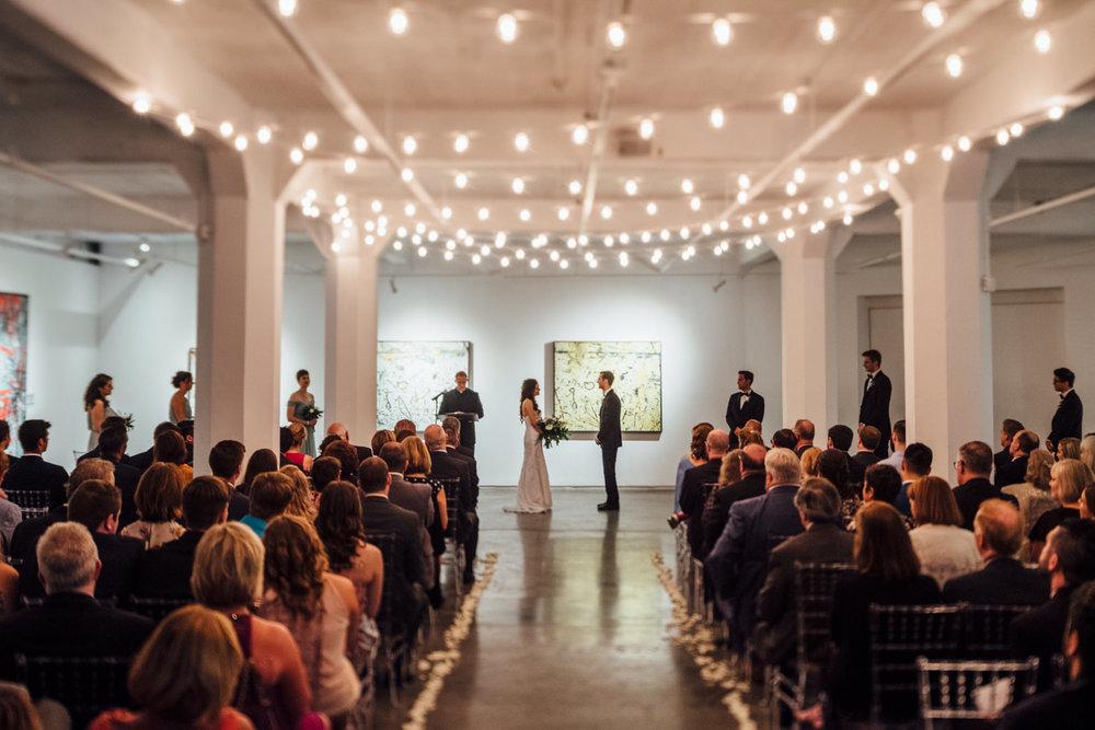 Zhou B Art Center Chicago Wedding Cling & Peck