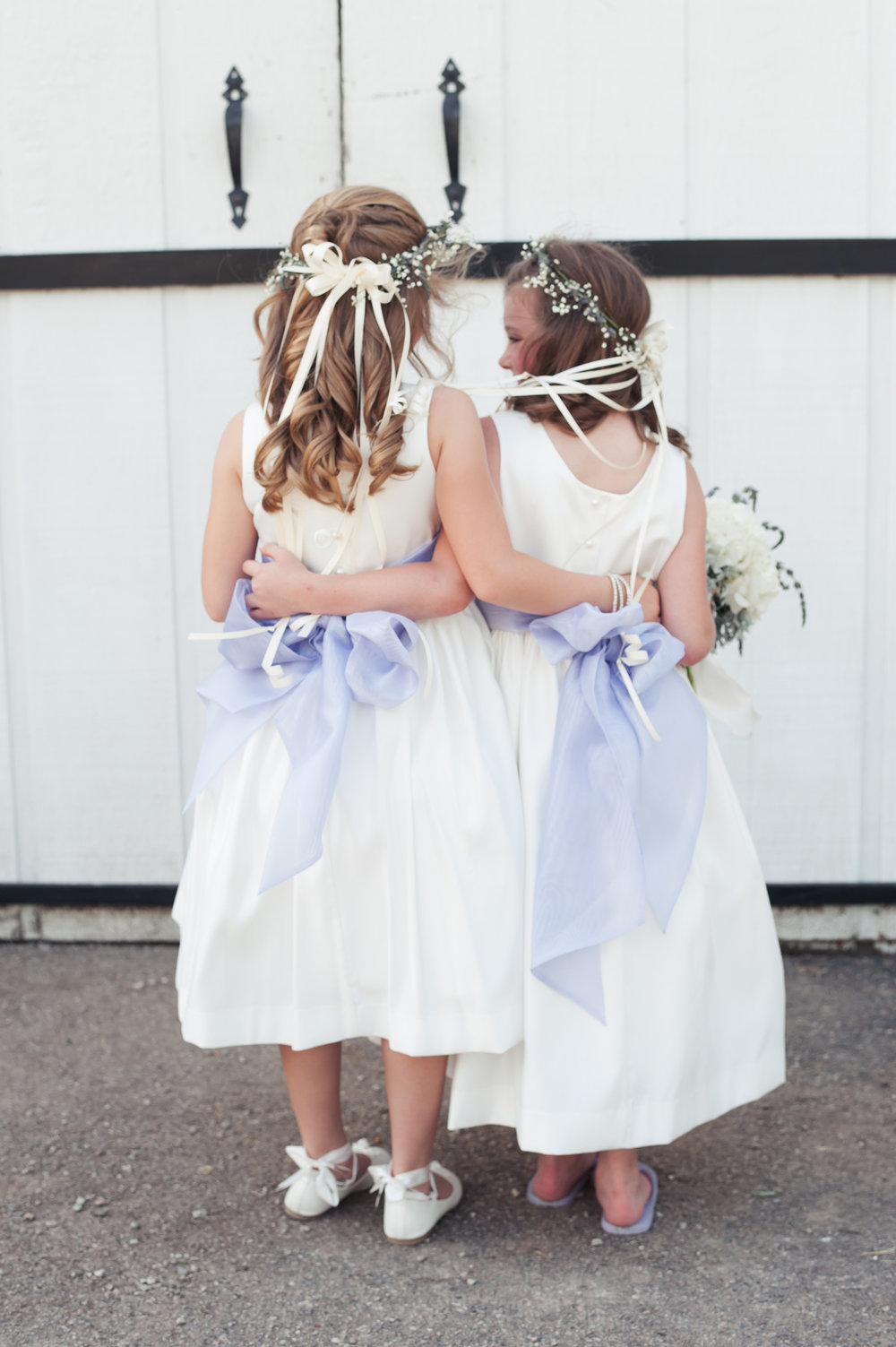 Flower Girls Chicago Farm Wedding Elite Photo