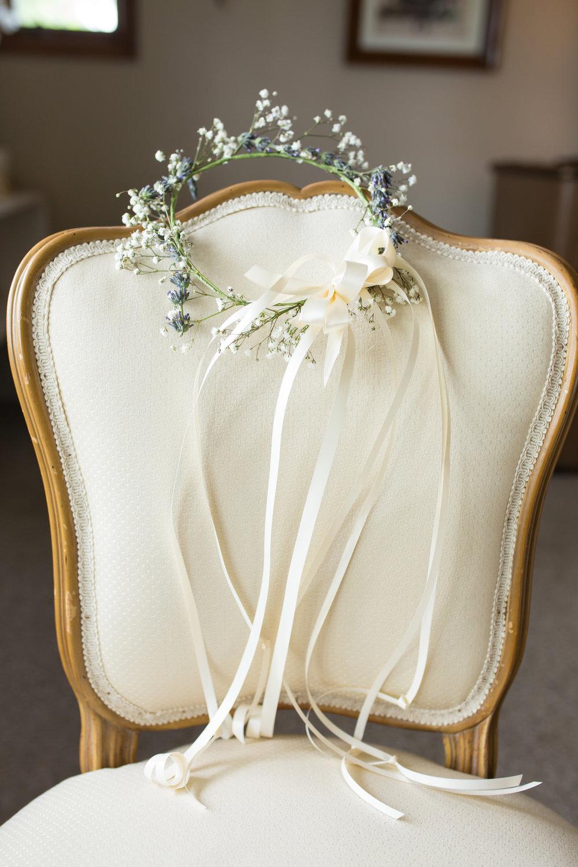 Flower Girl Floral Crown Chicago Wedding Elite Photo