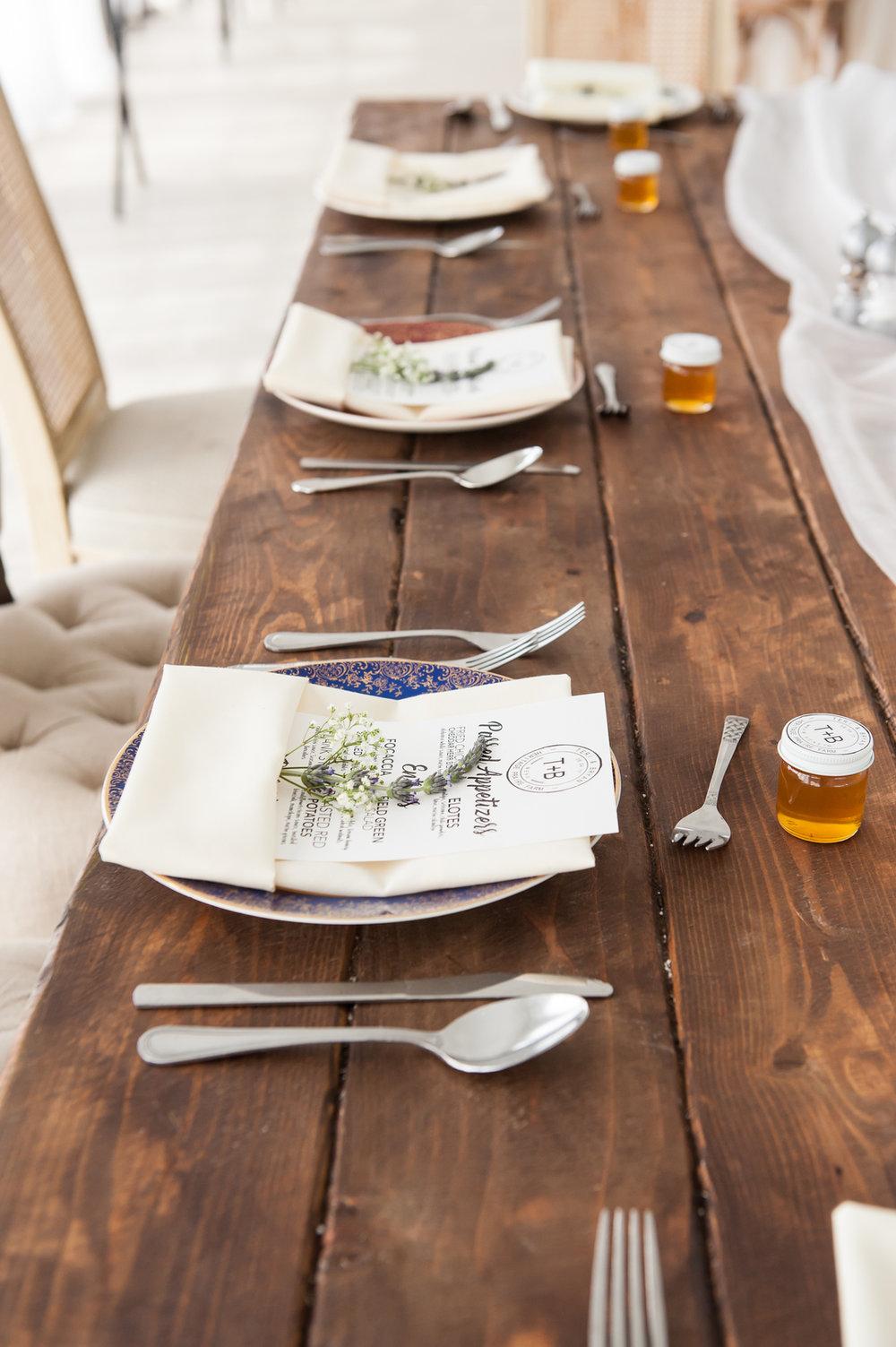 Rustic Table Settings Chicago Farm Wedding Elite Photo