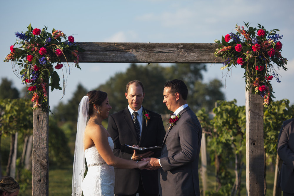 Bride and Groom Ceremony Chicago Wedding Elite Photo
