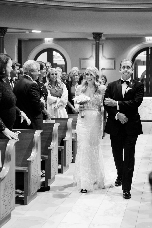 Bridal Entrance Old St. Patrick's Church Chicago Wedding Julia Franzosa Photography