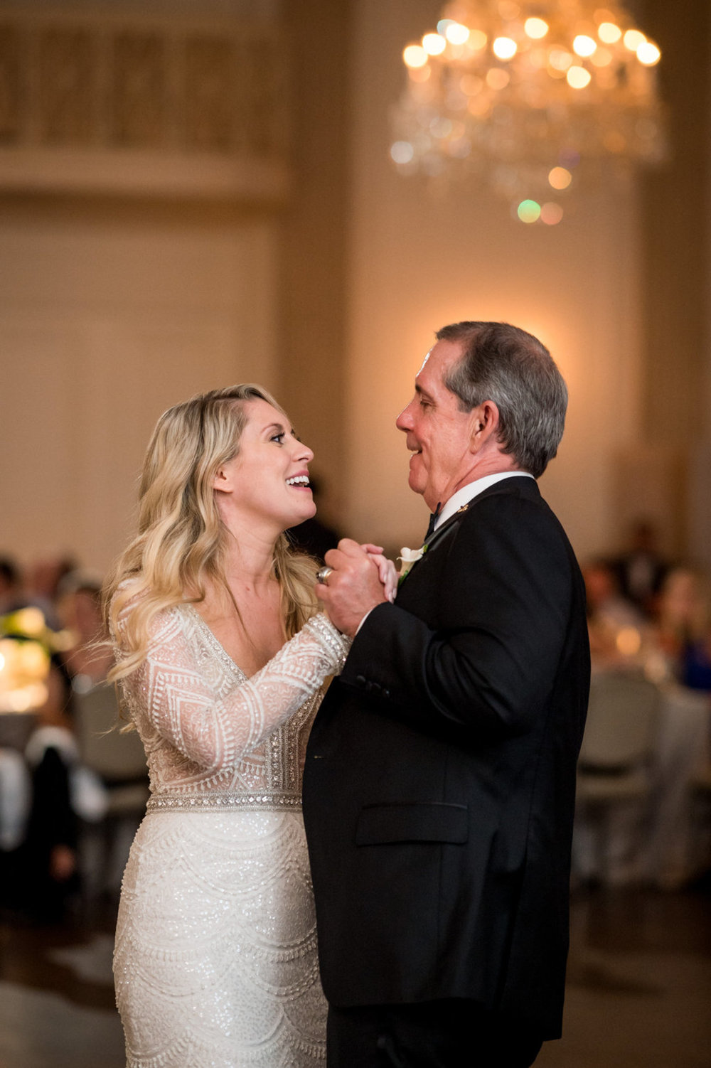 Father Daughter Dance The Standard Room Chicago Wedding Julia Franzosa Photography