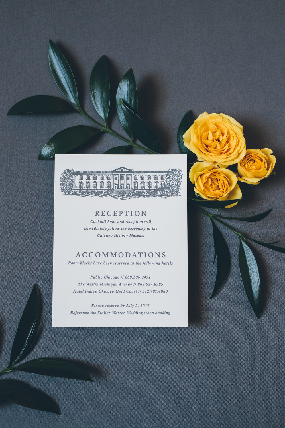 Greenery Wedding Invitations Chicago Wedding Ed and Aileen Photography