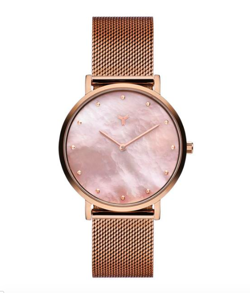 Rose Gold Woman's Watch