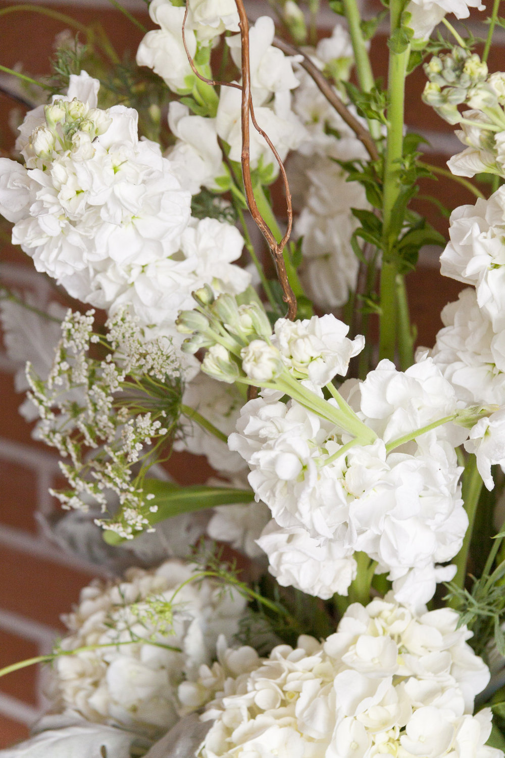 White Flowers Mint Green Bridal Shower Degrees North Images