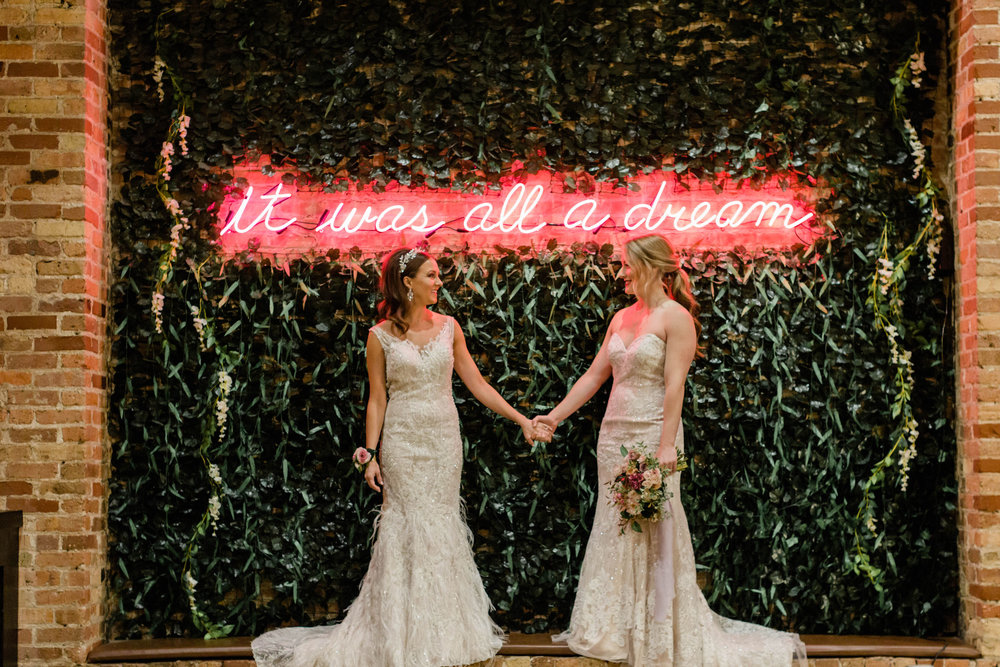 LGBTQ Chicago Wedding Photography by Lauryn