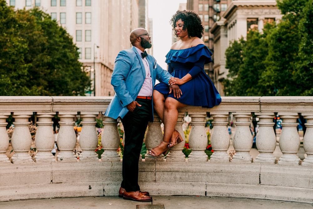 Chicago Engagement Session Emily-Melissa Photography LLC
