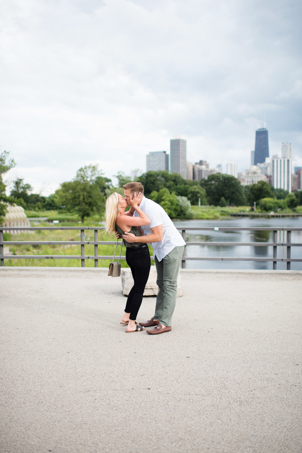 Surprise Chicago wedding proposal in Lincoln Park Zoo captured by Melina Morales Photography. See more wedding engagement and proposal ideas at CHItheeWED.com!