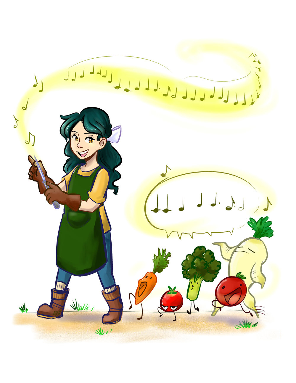 Magical March 2018:  Vegetables
