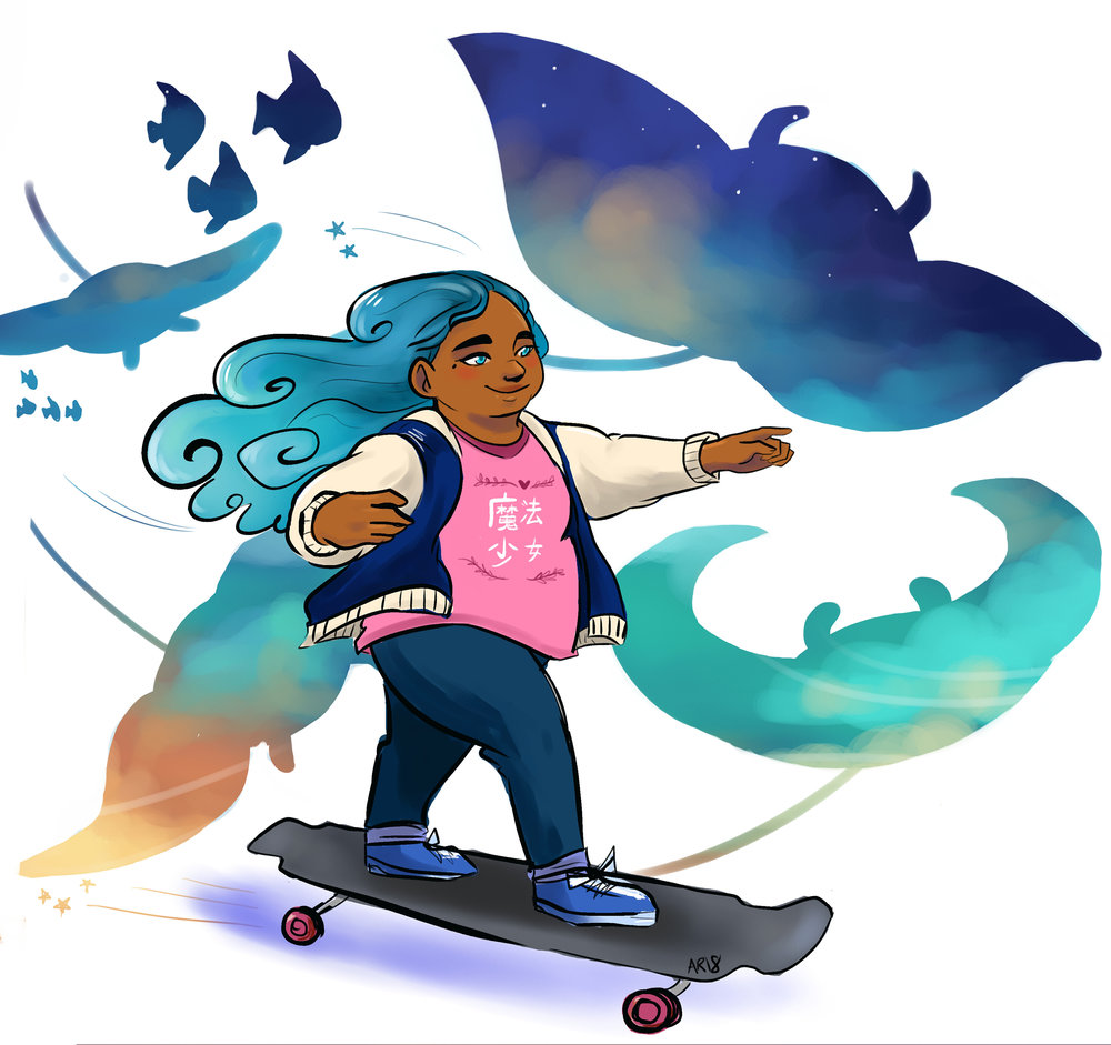 Magical March 2018:  Skate On