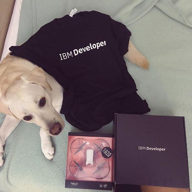 It's here :D #IBMdeveloper #FreeDrone