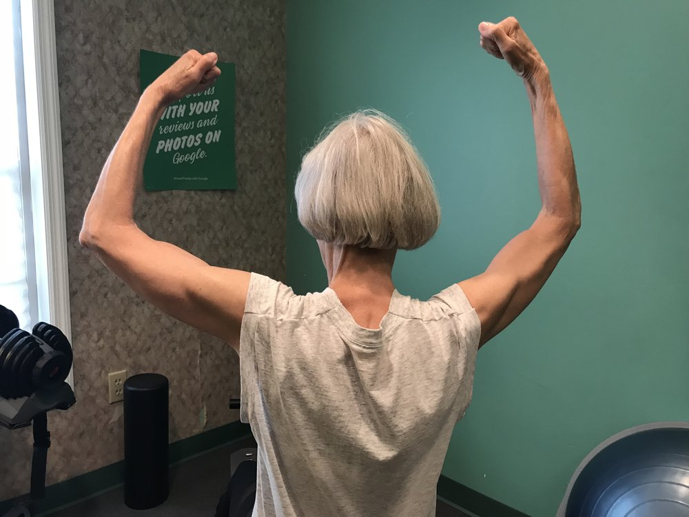 FITNESS FOR ALL AGES  (Karen, Age 69)