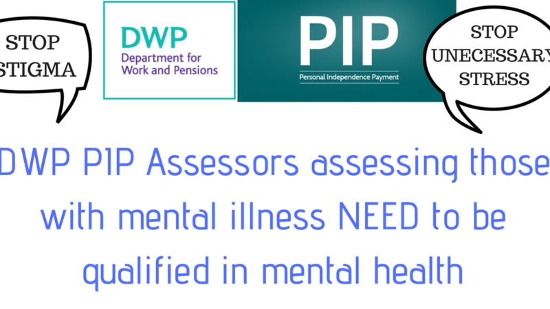 DWP PIP and mental health petition
