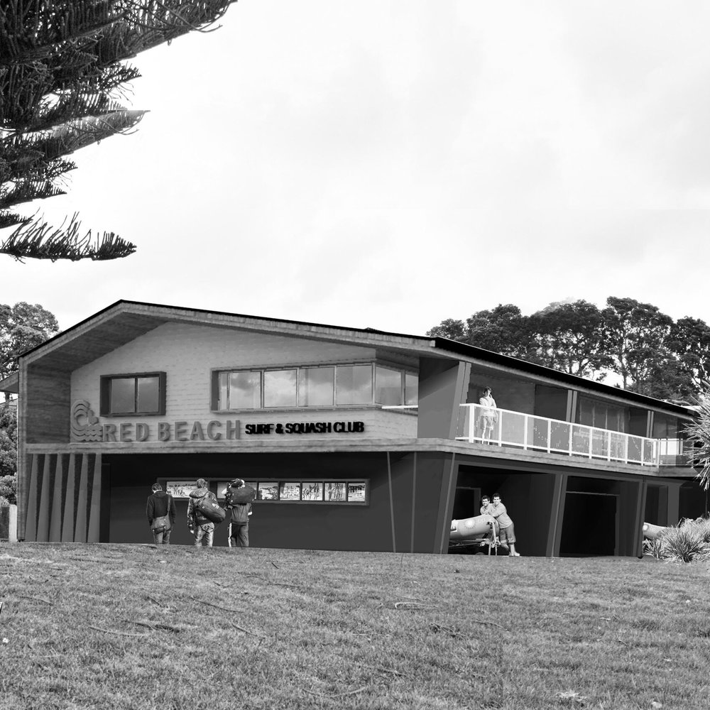 Red Beach Surf Club Auckland, NZ