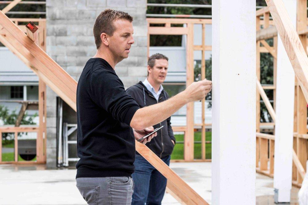 Jurado Architects Director Scott Jury Left,    John Jennings - Right.