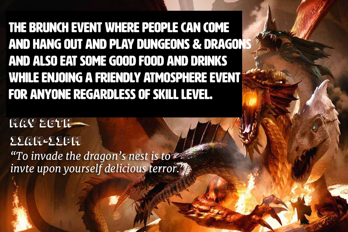 Bruncheons & Dragons | Video and Board Gaming Venue