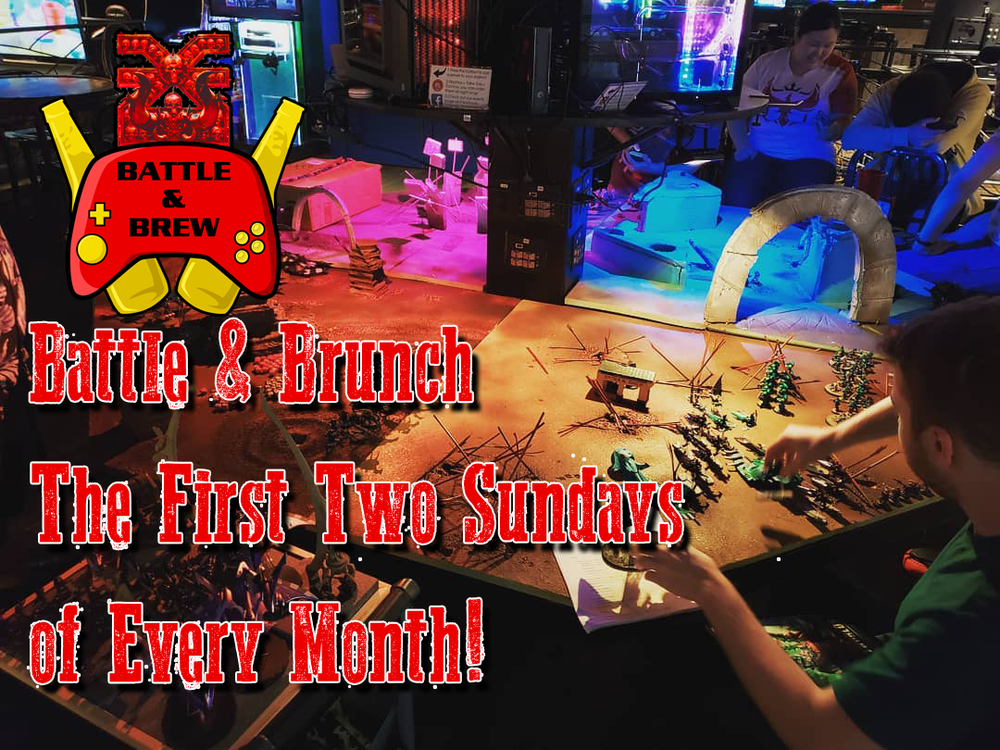 Upcoming Events | Video and Board Gaming Venue - Restaurant