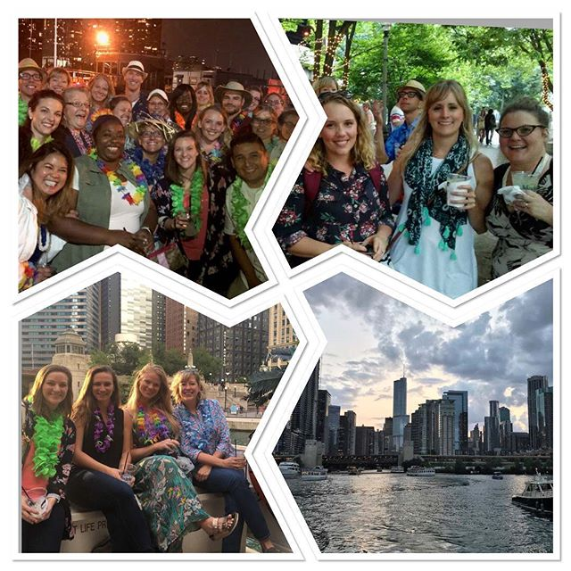 The CuraLinc team celebrated our 2018 #SummerParty with a little help from the folks at @islandpartyhut! #tiki #Chicago #workhardplayhard