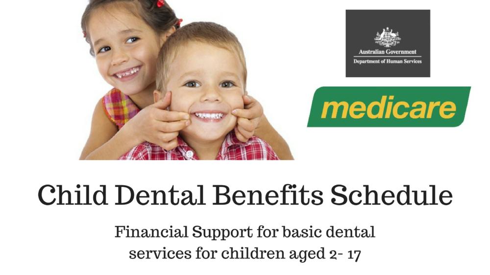 Child Dental Benefits Schedule 2 - Seven Hills Dentist