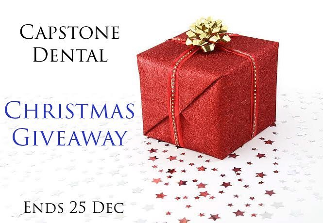 Capstone Dental Christmas Giveaway