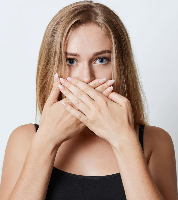Image result for picture of someone reacting to a bad smell