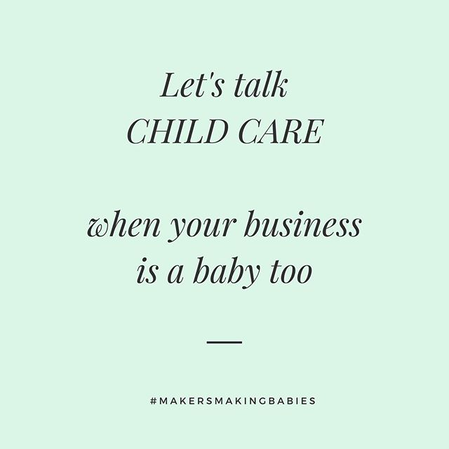 """""""I can do it"""" I said, """"I can both care for my very very young child and grow my business""""⠀ 🤦🏻♀️⠀ It isn't easy though. There are days where I'm lucky if I get ☝️ thing done. My pre baby schedule where I was the focus was no more.⠀ .⠀ I just wish I knew what to expect, nobody told me naps get longer as they consolidate to ✌️and then ☝️, they do btw. With baby #2 things are easier because I know what to expect.⠀ .⠀ The early days I decided not to expect anything work wise during the day. My studio was too dangerous for a baby to be in and I hated resenting my baby for crying because I needed to send an email. I kept iterating, trying new set ups, adapting.⠀ .⠀ I'm taking questions 👇if you have any. I tried many things. Part time baby sitter, grandmother coming for week, sister helping, nanny share, leaving at mom's house, you name it!⠀"""