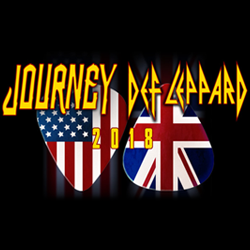 Journey + Def Leppard in concert!