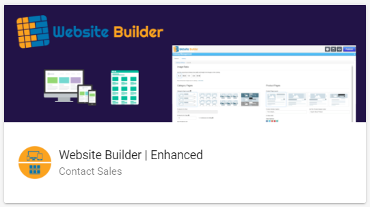 An alternative to having us create your site is to use our DIY website builder. With this  Website Builder | Enhanced  package, you can easily create and manage a catalog of products or services to better organize and promote your offering.