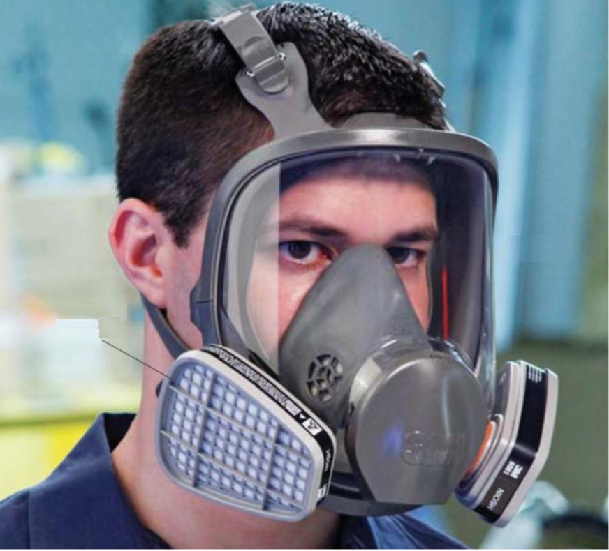 Respirators Safety Glasses Face-shields