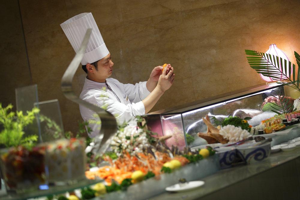 成都保利皇冠自助晚餐開放廚房T11.jpg