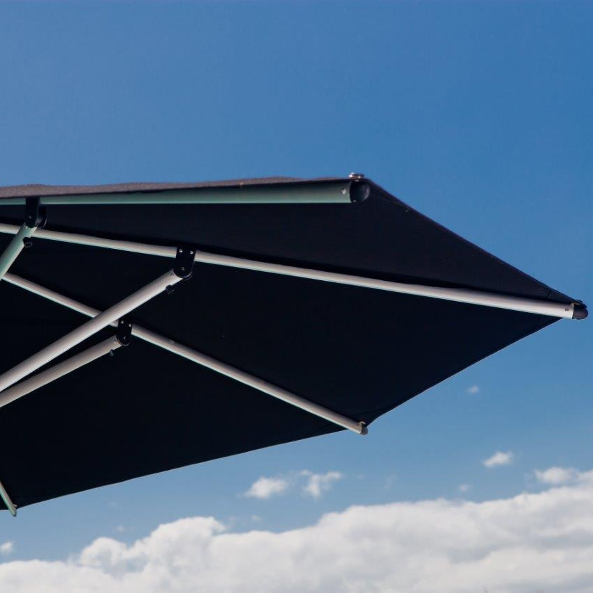 Canopy - -High quality Canvas.-Water-repellant and UV-resistant canopies.-Standard colours Natural, Slate, Smoked. Tweed & Black (Texsilk Olefin Canvas).-Other colours available to order (Acrylic Canvas).-2 Year Warranty against fading on Olefin fabric or 10 Year Warranty on Acrylic Canvas.