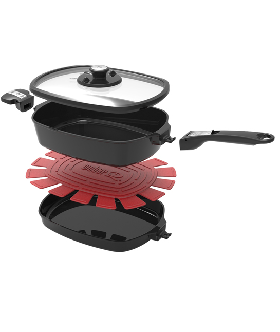 Q Ware Large Pack Frying Pan/Casserole Dish $199.95