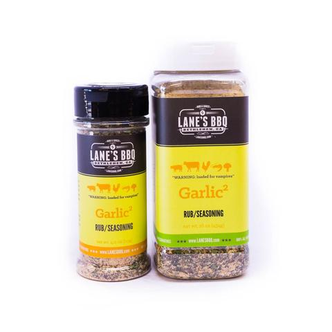 Lanes BBQ Garlic2 Rub (Small) $12.95