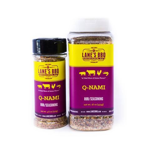Lanes BBQ Q-NAMI Rub (Small) $12.95