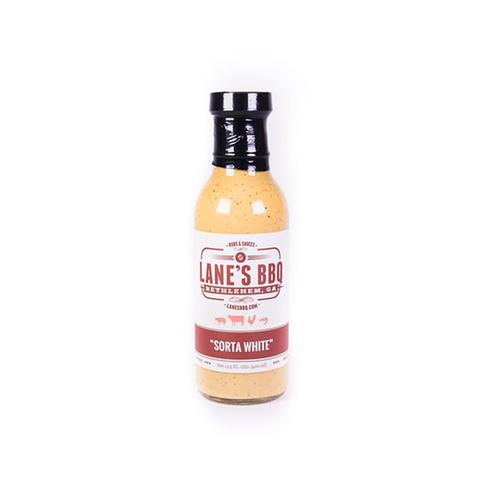 "Lanes BBQ ""SORTA WHITE"" Sauce $14.95"